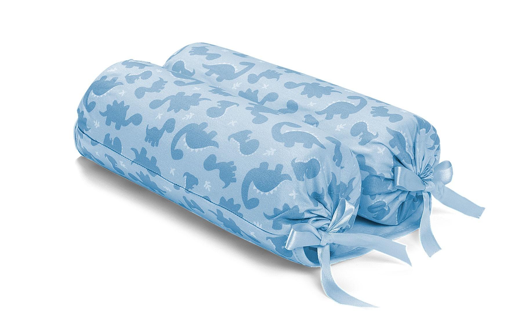 Rolinho Segura Bebê Dinos Azul