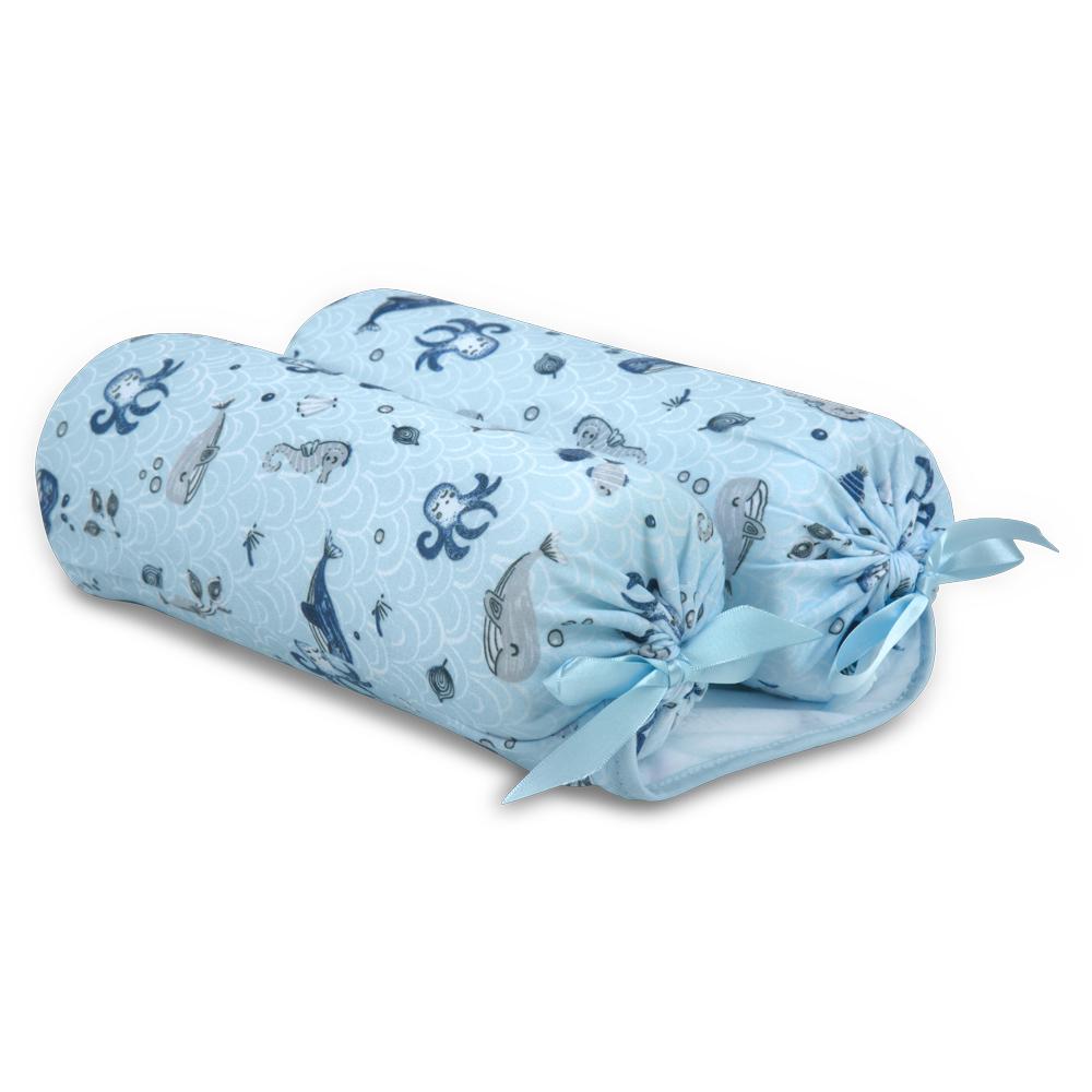 Rolinho Segura Bebê Fundo Do Mar Azul - Hug