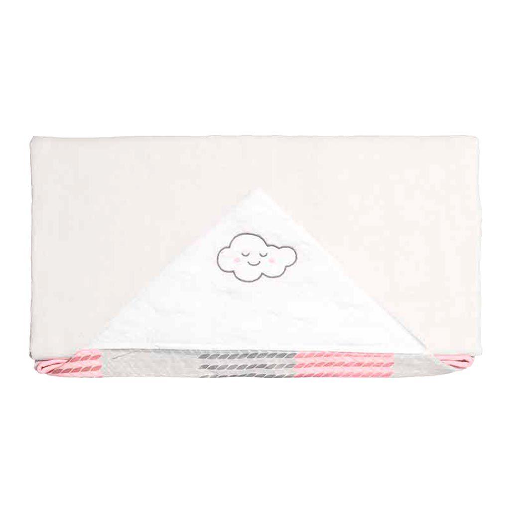 Toalha De Banho Pedacinho Do Céu Rosa