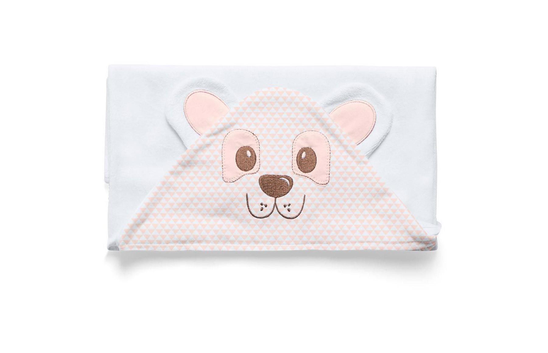 Toalha De Banho Premium Acessórios Rosa