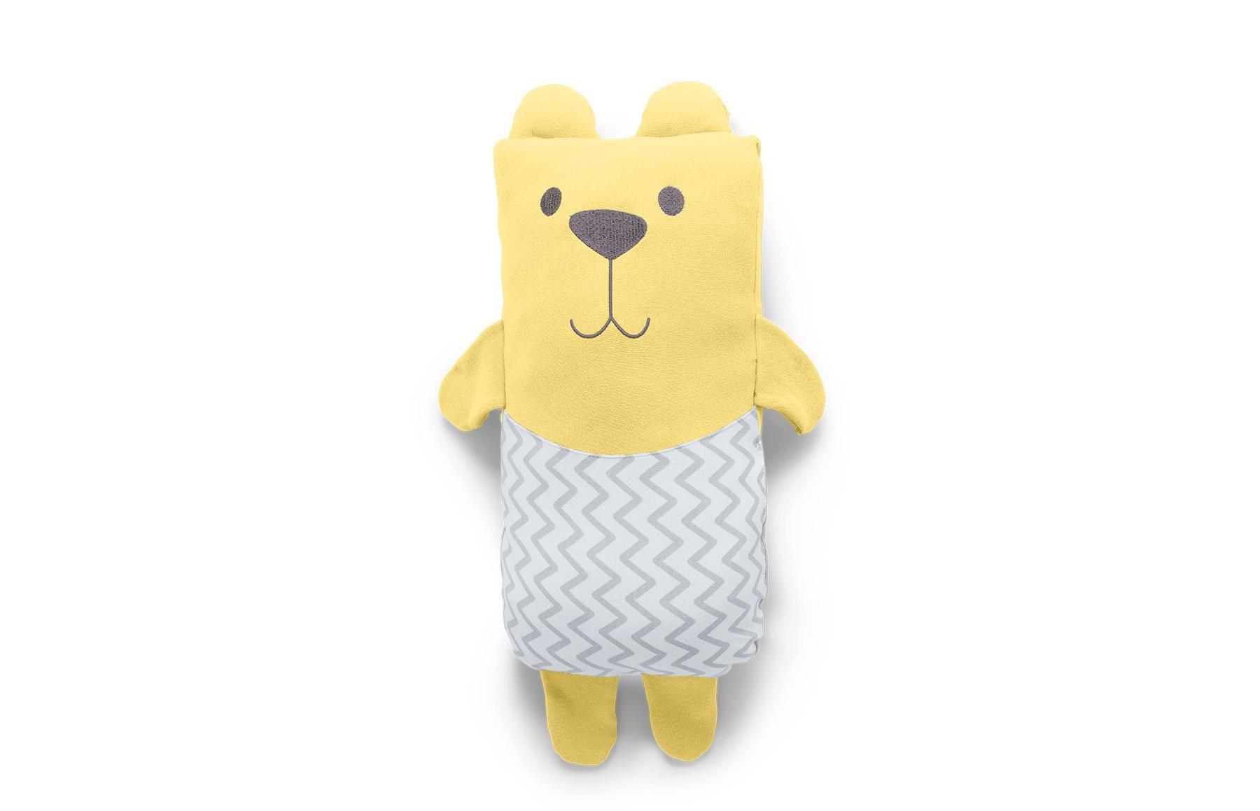 Travesseiro Agarradinho Amarelo