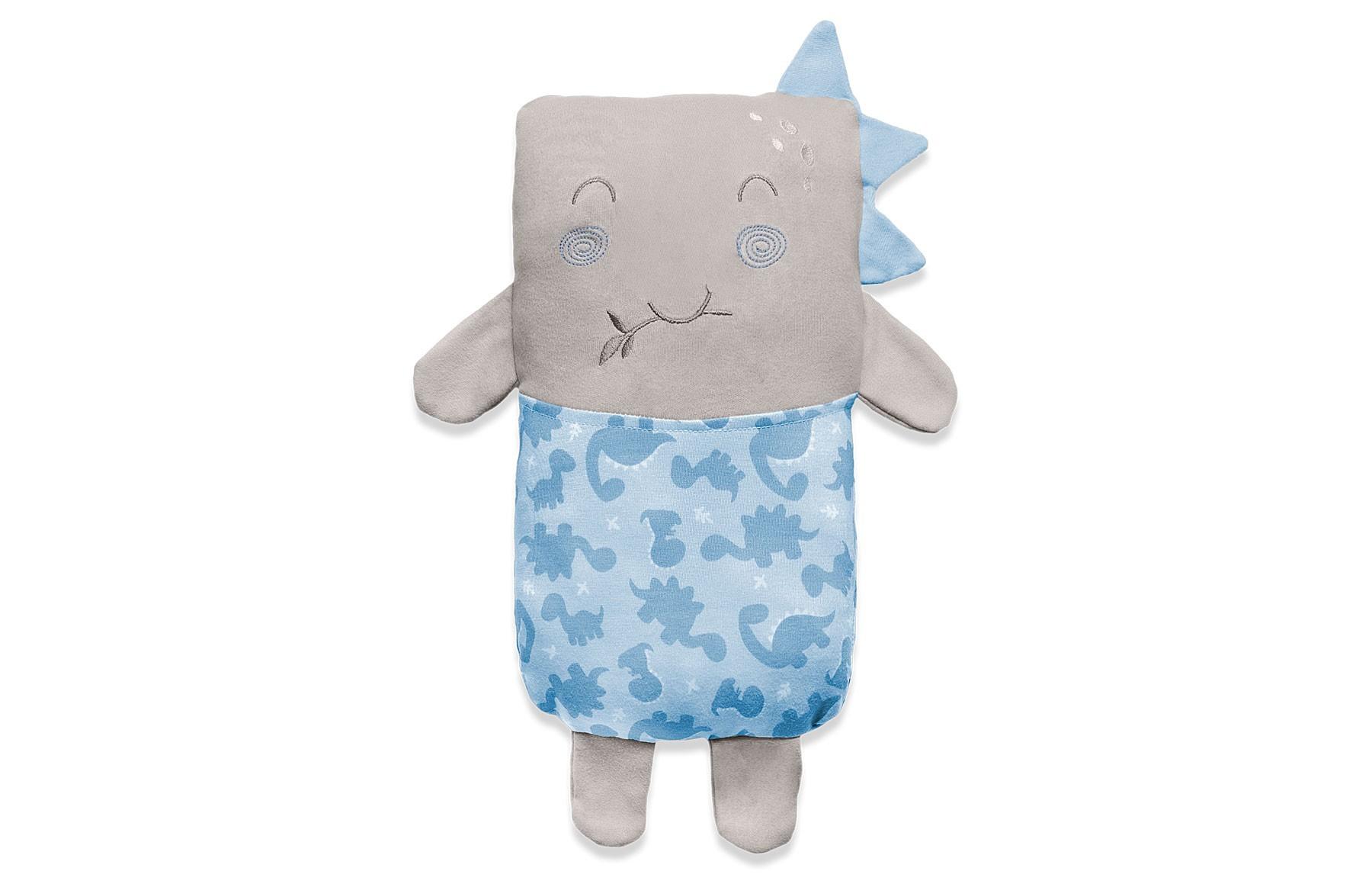 Travesseiro Agarradinho Meus Dinos Azul