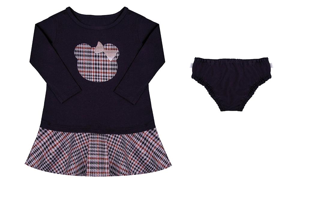 Vestido + Calcinha - Preto