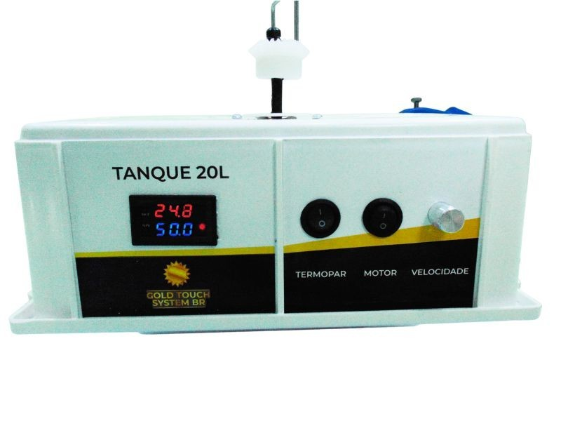 Mini Galvanoplastia 20 Litros - Rotativo - Vai e Vem