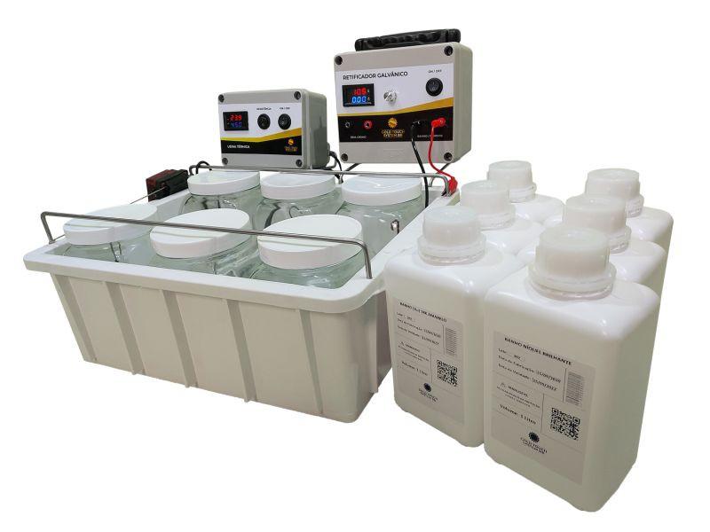 Mini Galvanoplastia Power Plating (Capacidade 1L)