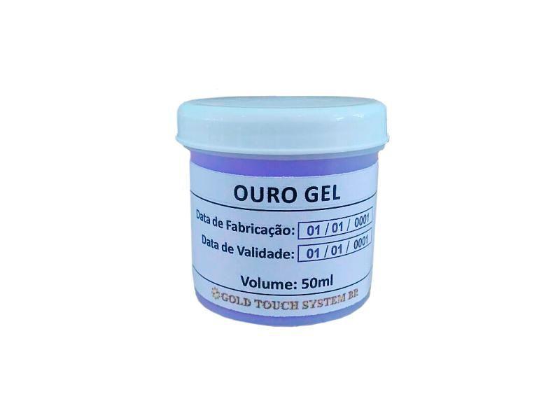 Ouro Gel 24k Super Concentrado 50ml (Folheia Aço Inox)