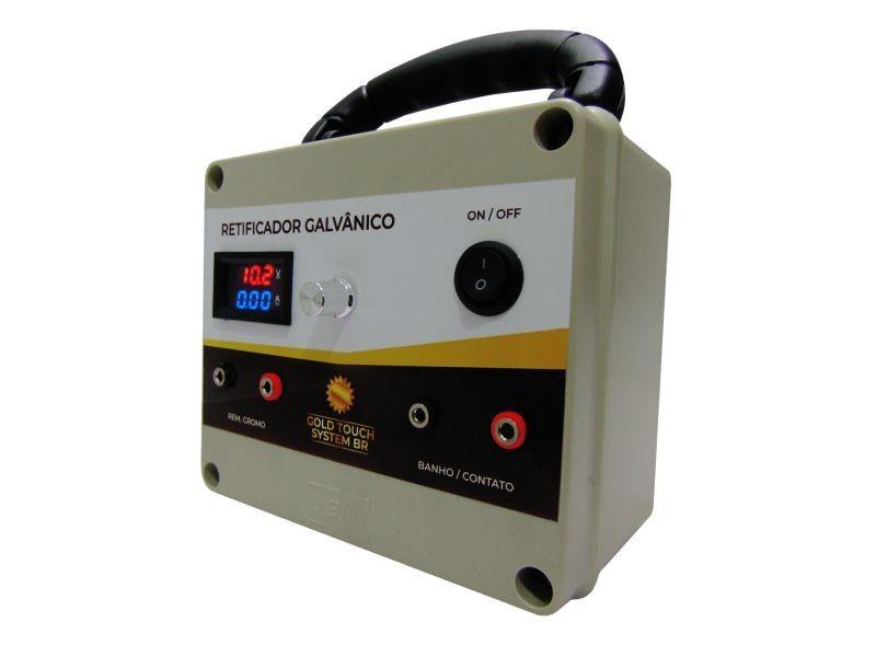 Retificador Digital 10A para Galvanoplastia