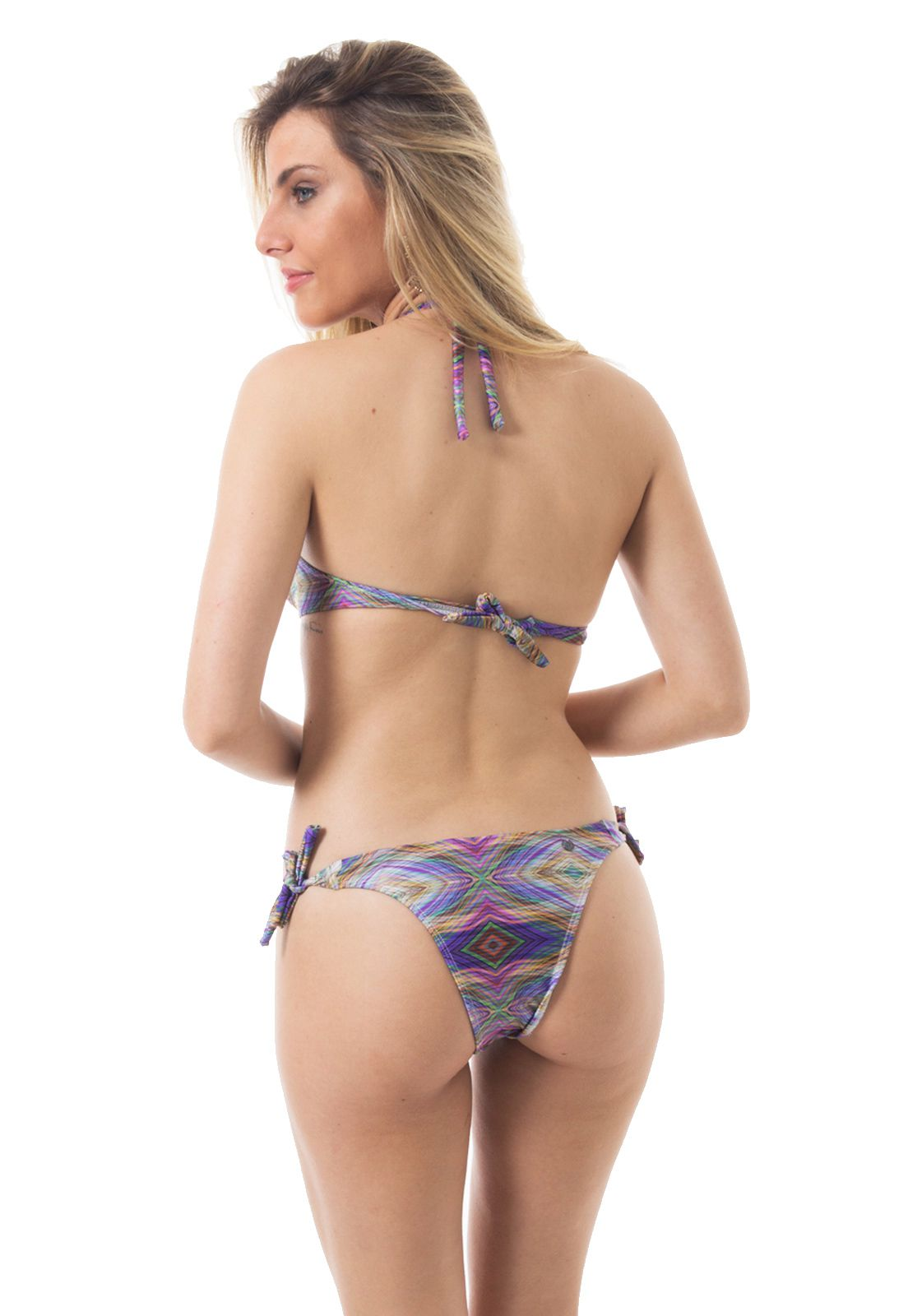 Biquíni Flavia Donadio Beachwear Sunset Conjunto Modelo 1