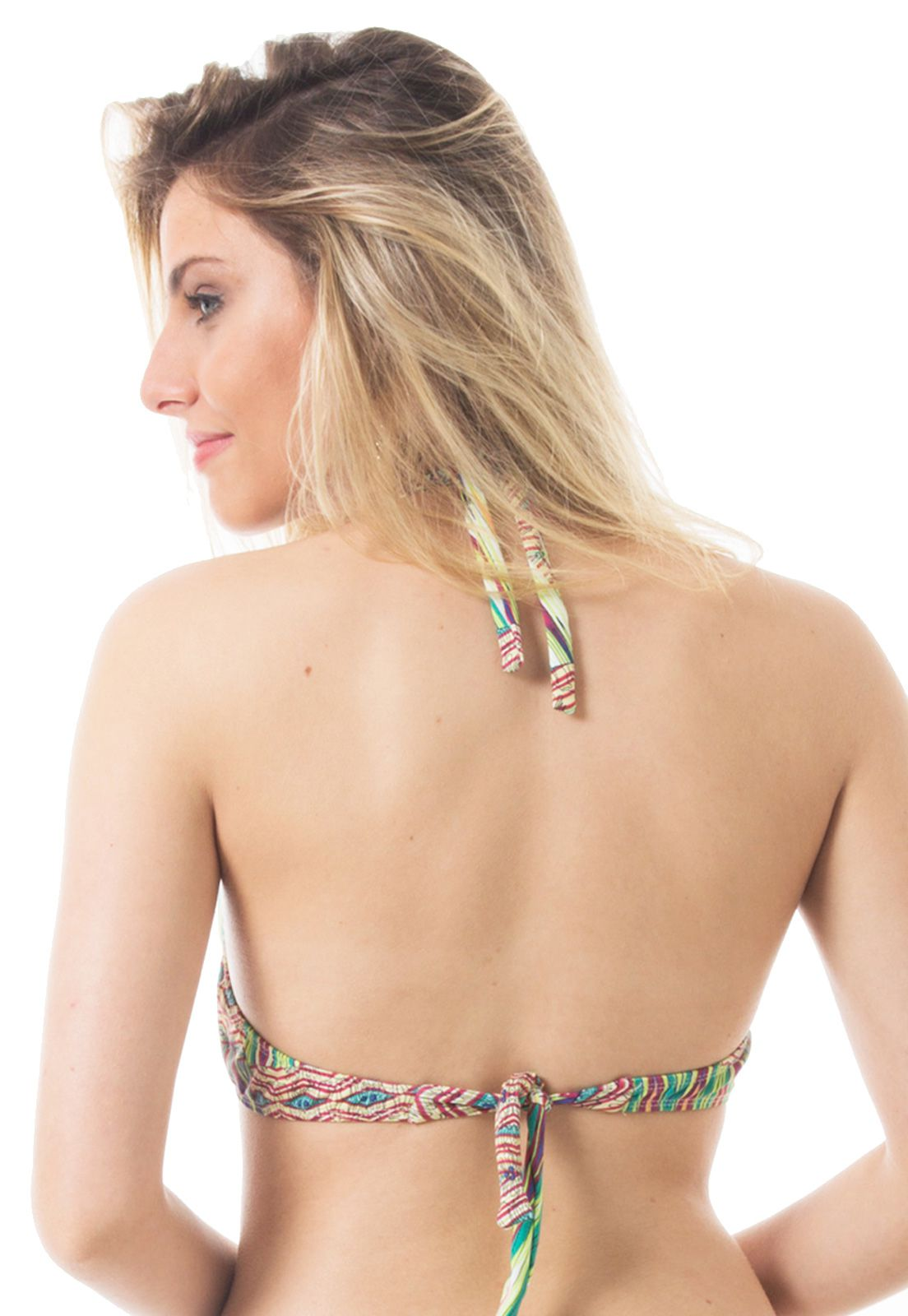 Biquíni Top Push-up Flavia Donadio Beachwear Tahiti -2 Multicolorido