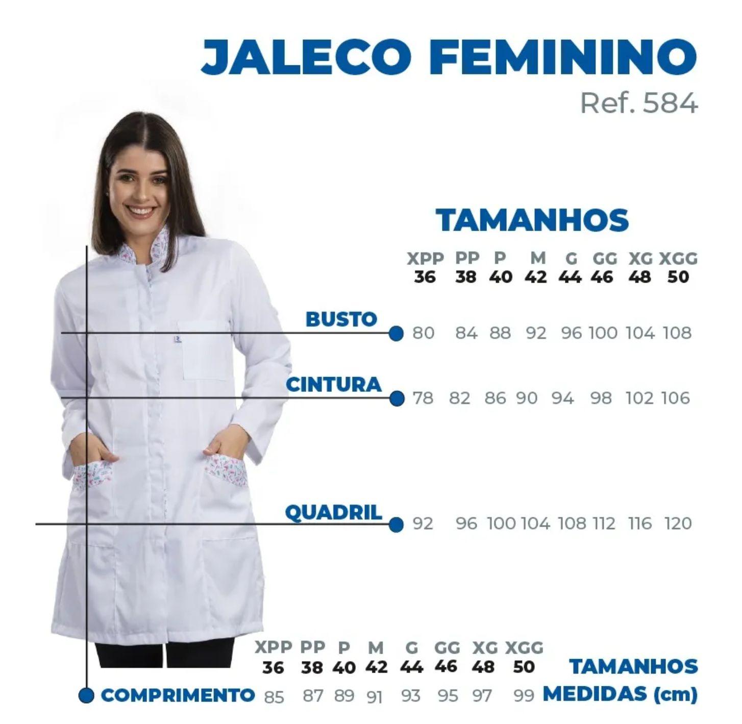 Jaleco Abigail - Branco