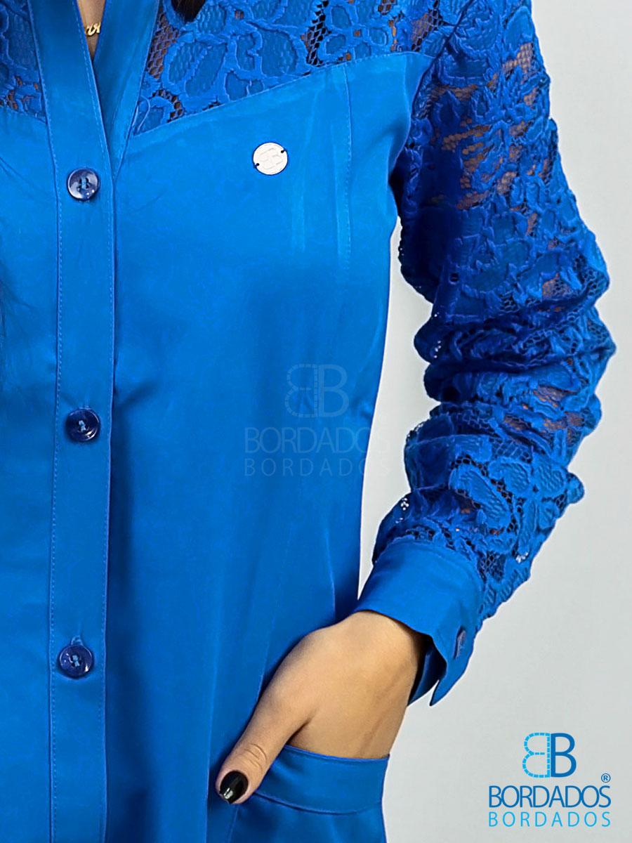 Jaleco Blue - Azul Royal
