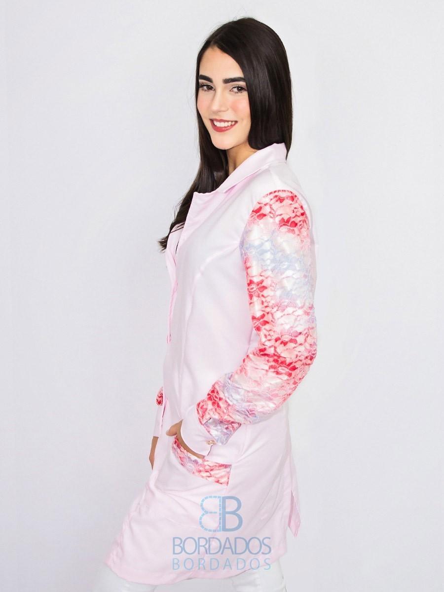 Jaleco Lily - Rosa