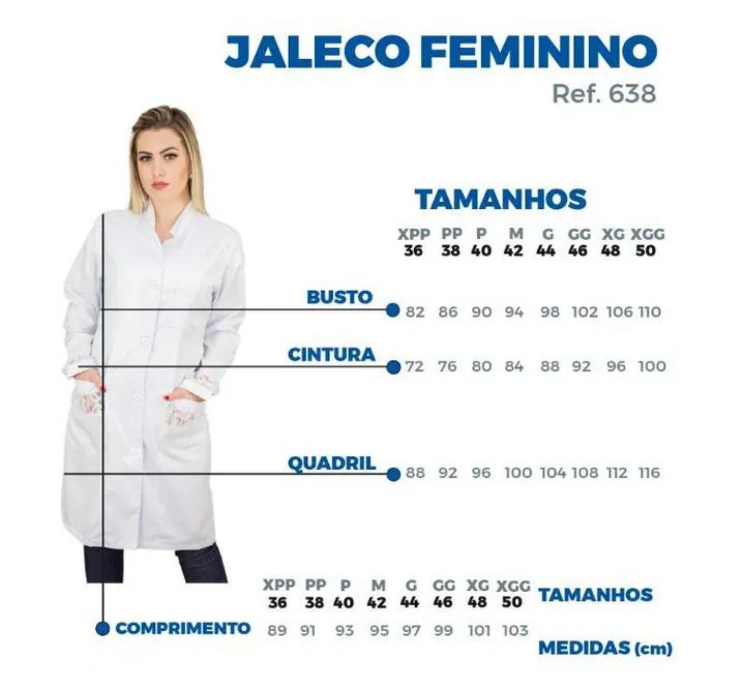 Jaleco Eva - Branco