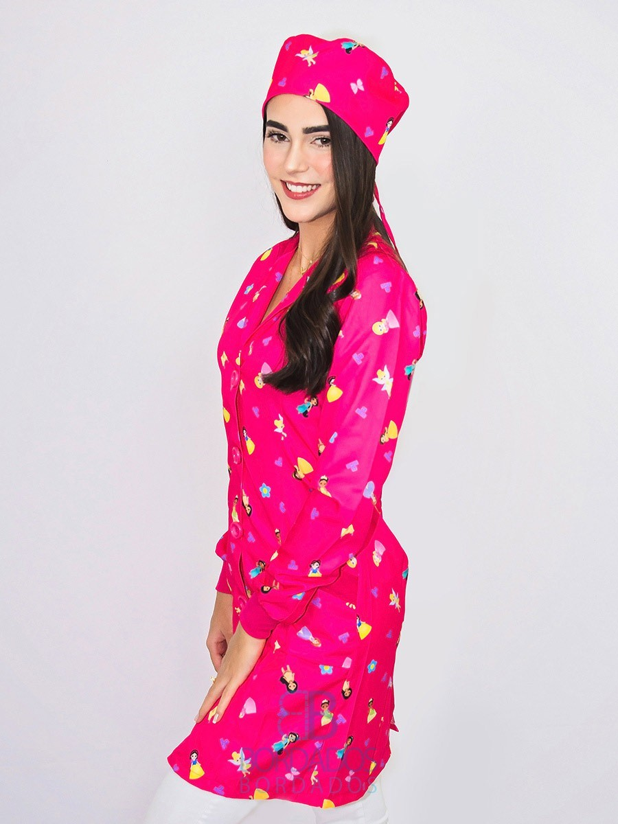 Jaleco Princess - Pink