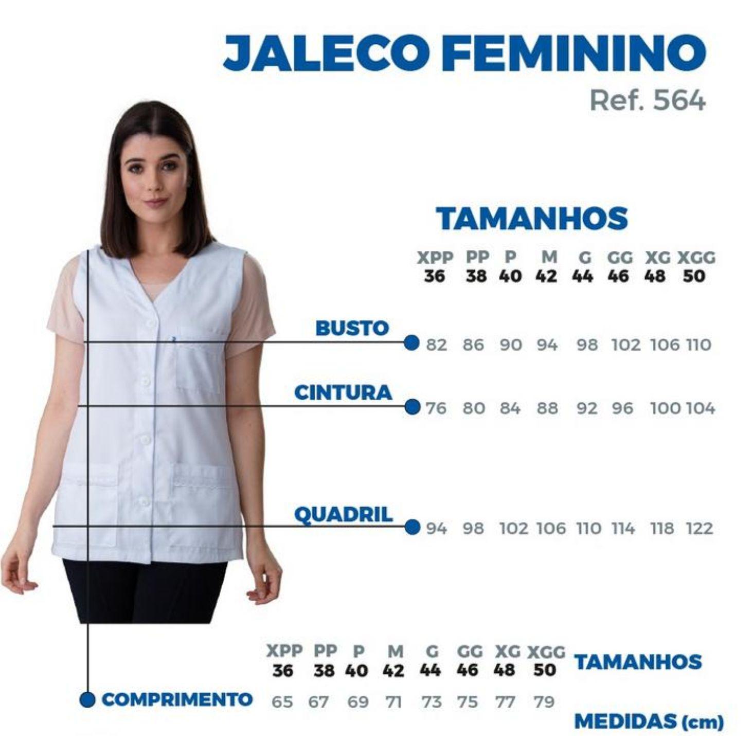 Jaleco Flora - Branco