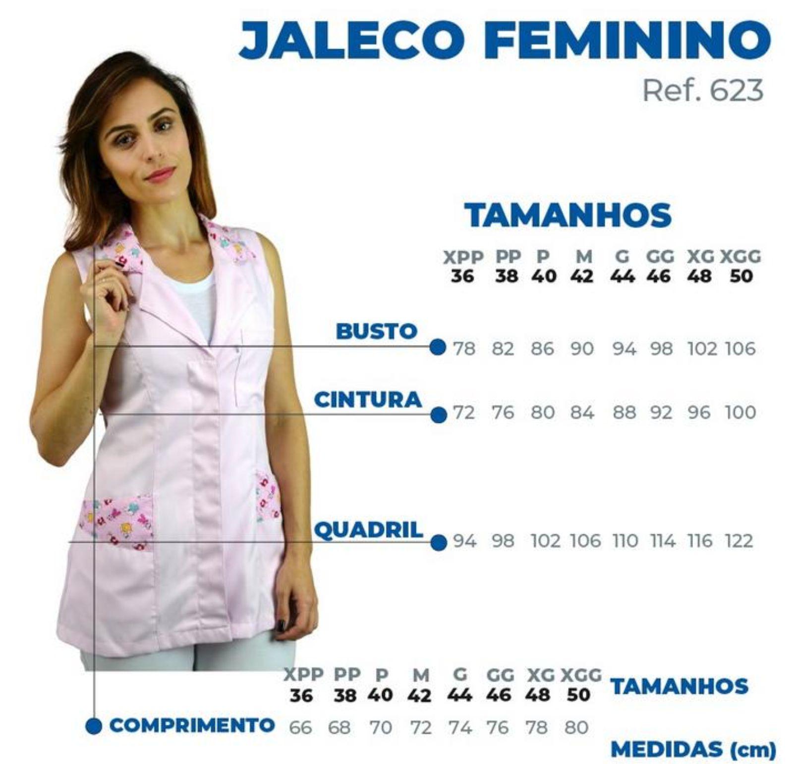 Jaleco Hanna - Rosa
