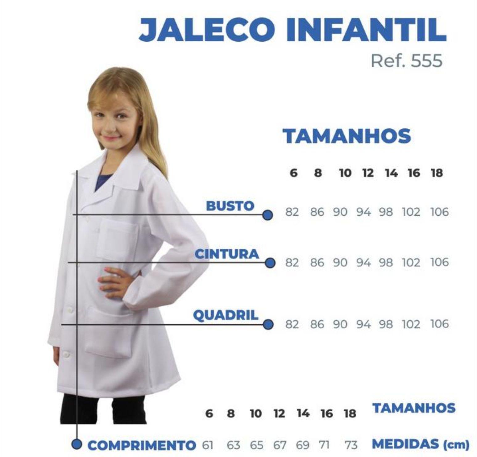 Jaleco Infantil Básico