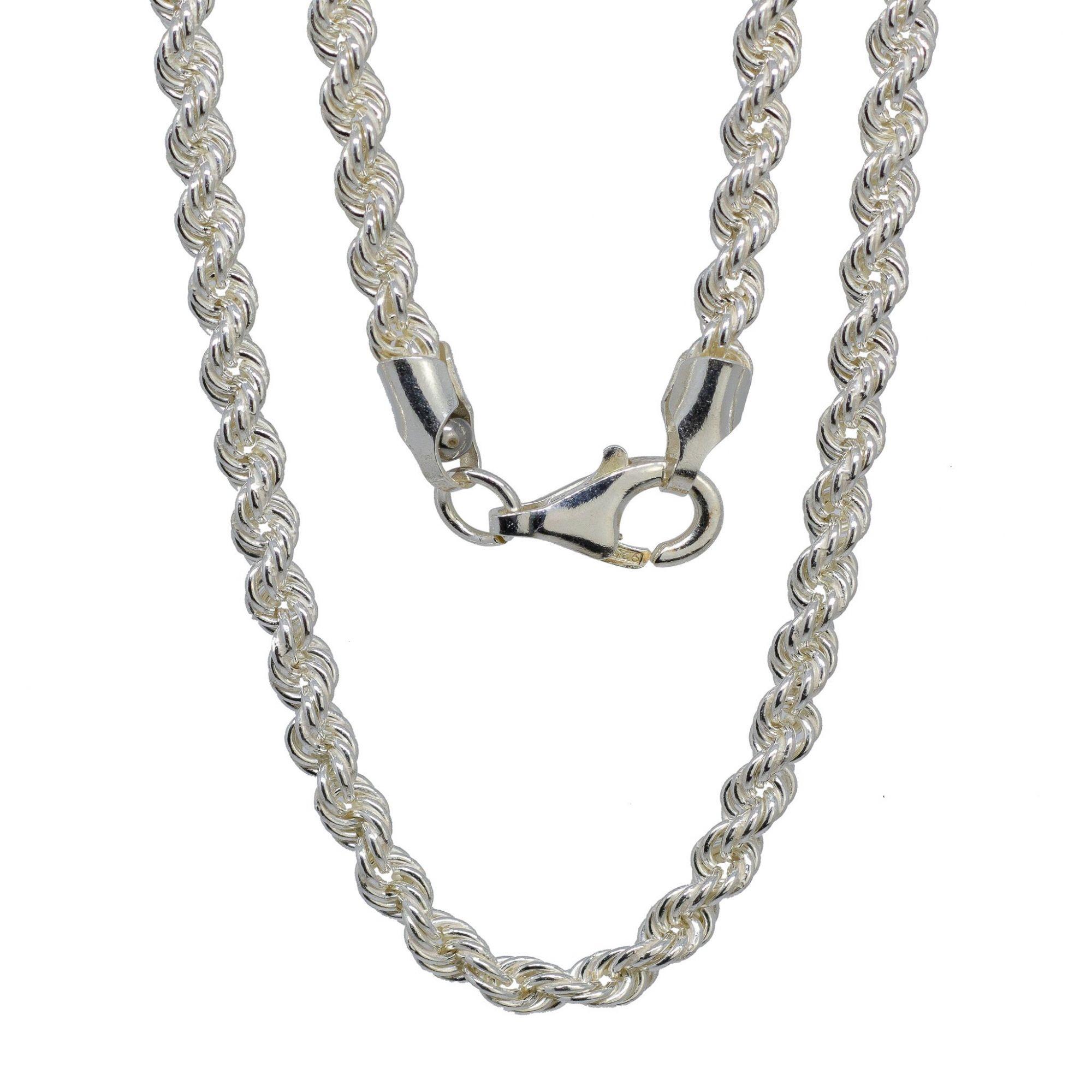 Corrente prata 925  cordao baiano