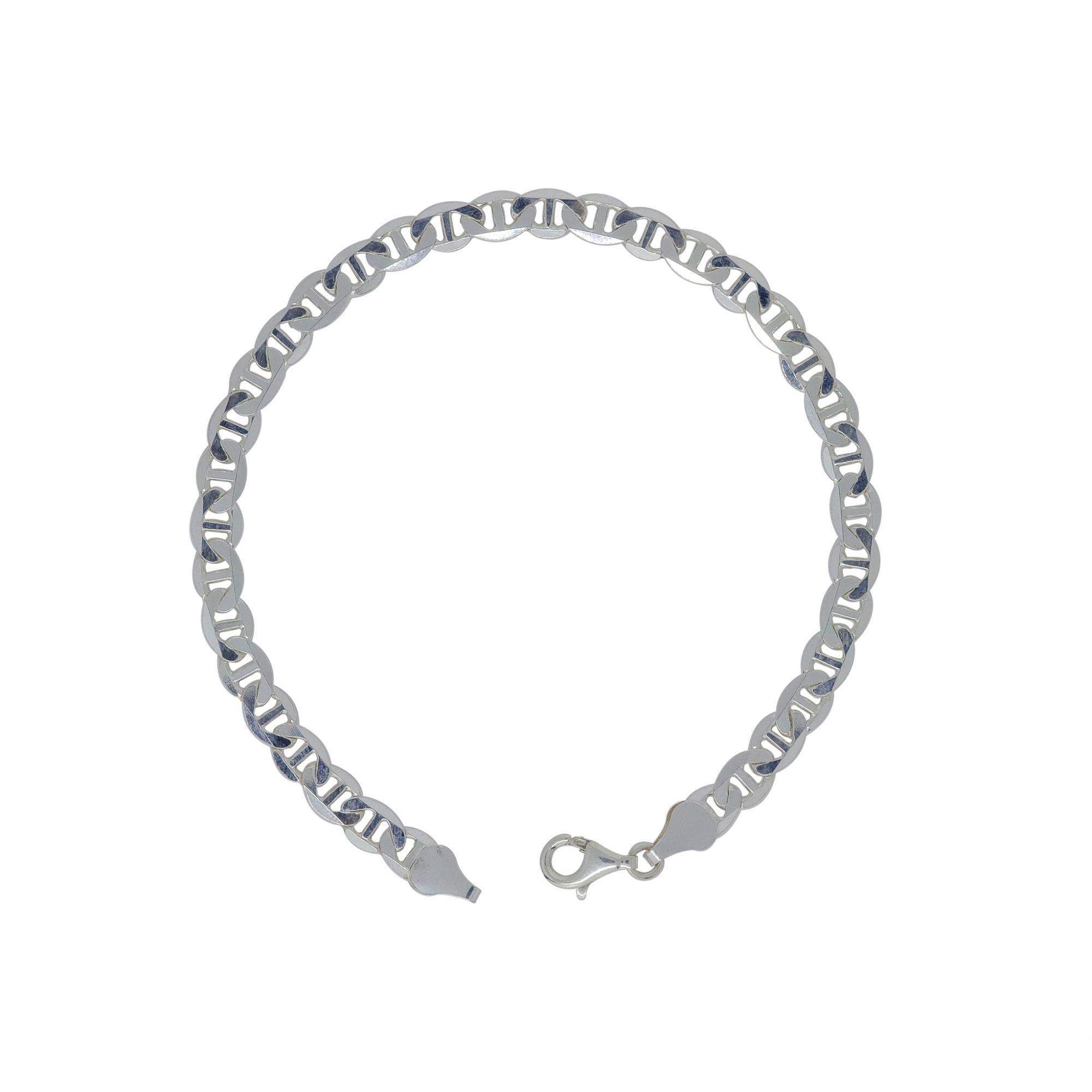 Pulseira prata 925 piastrine