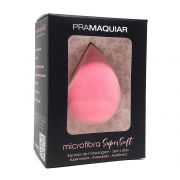 Esponja Maquiagem Microfibra SuperSoft Pramaquiar Rosa - Sem Latex