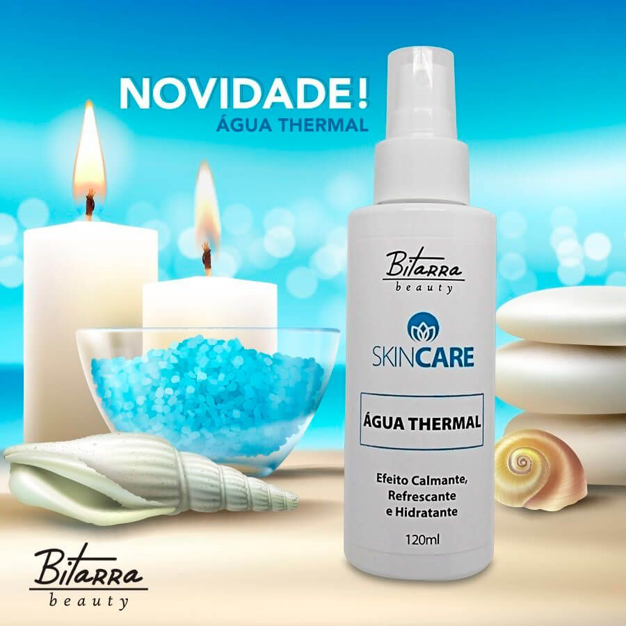 Água Thermal Skin Care 120ml Bitarra