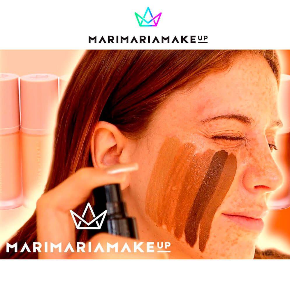 Base e Corretivo Líquido Matte Mari Maria - Cor Caramelo