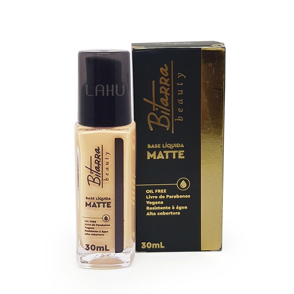 Base Líquida Matte Bitarra 30ml - Cor 03 Nude