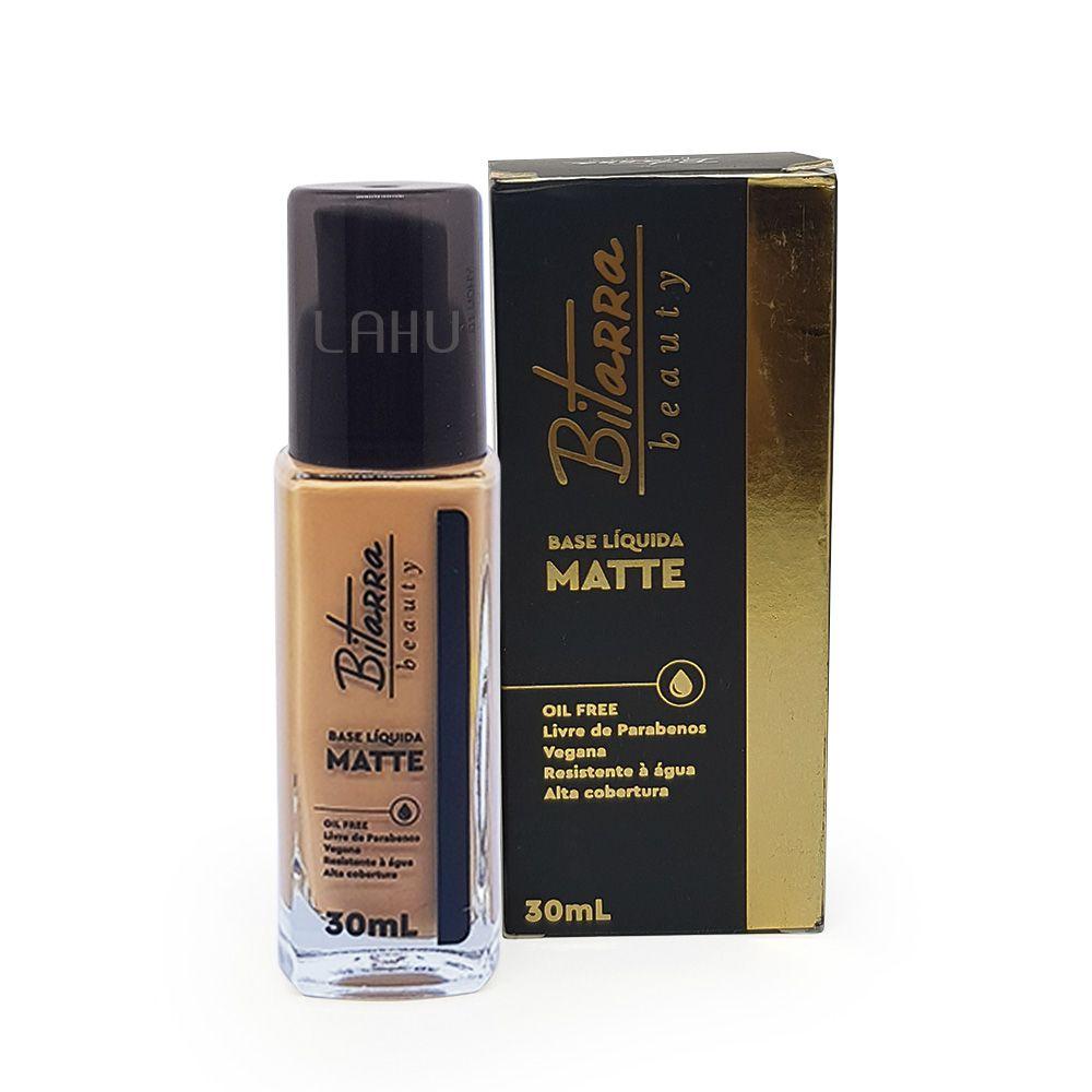 Base Líquida Matte Bitarra 30ml - Cor 06 Honey Beige