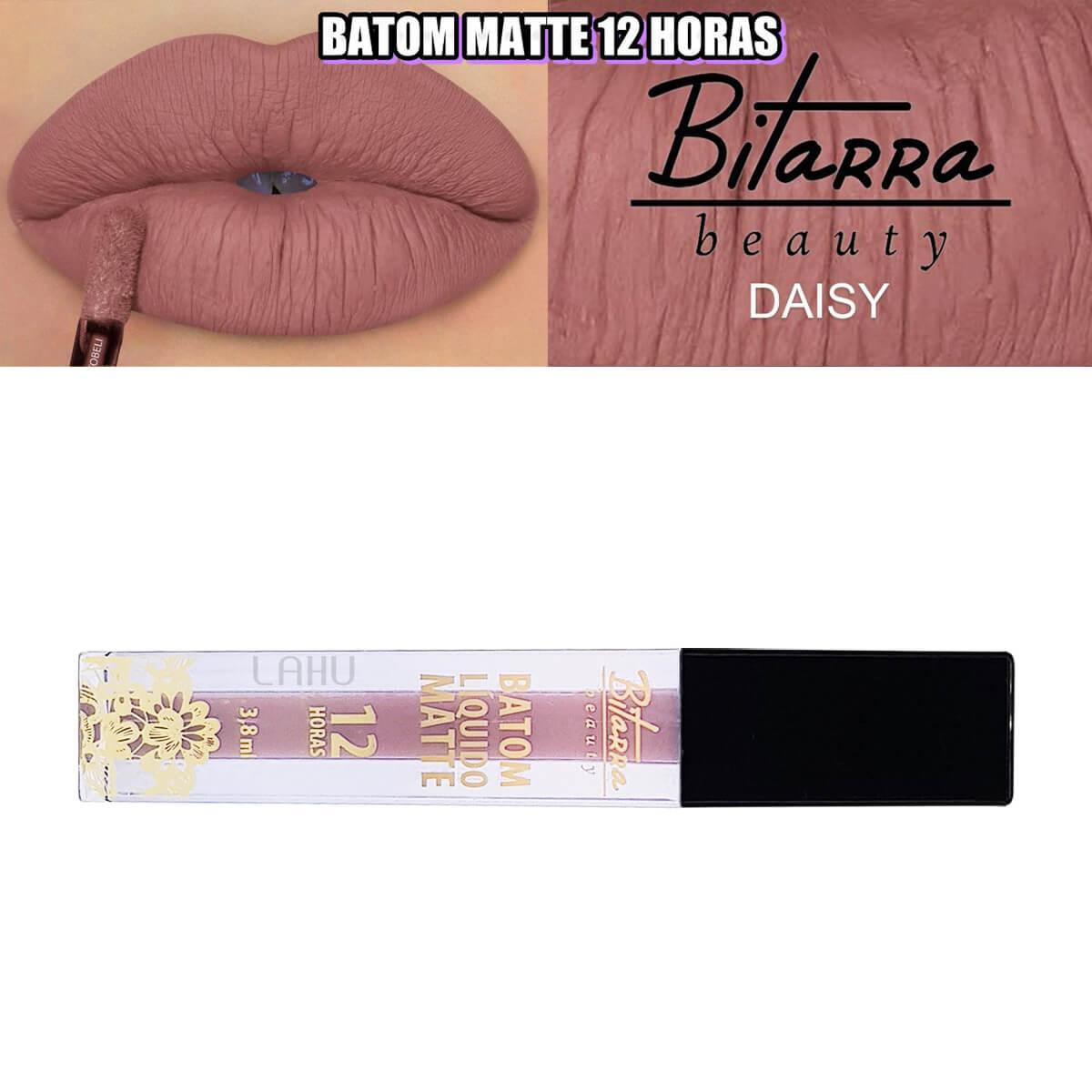 Batom Liquido Matte Bitarra 12 Horas - Daisy
