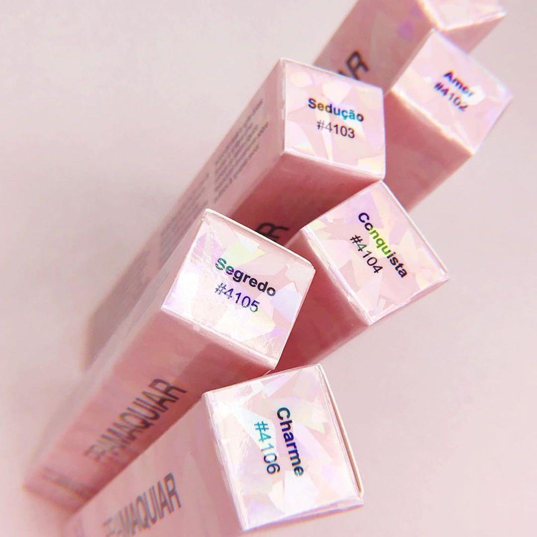 Batom Liquido Matte Hidratante Pramaquiar - Cor Charme 4106