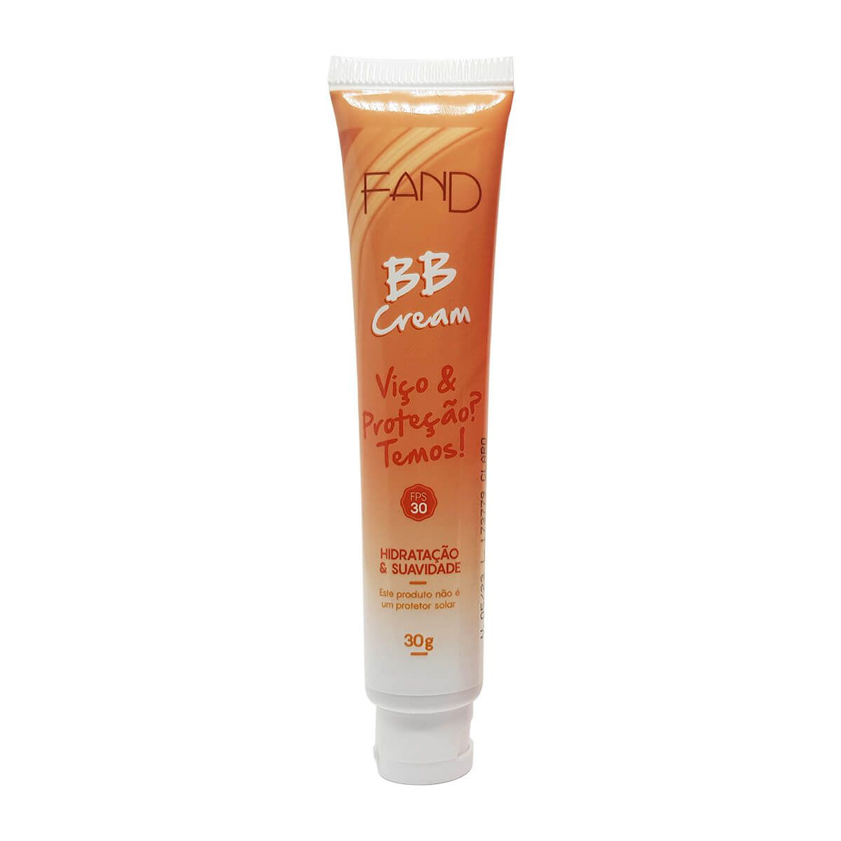 BB Cream Fand Makeup 30g - Cor Claro FPS 30