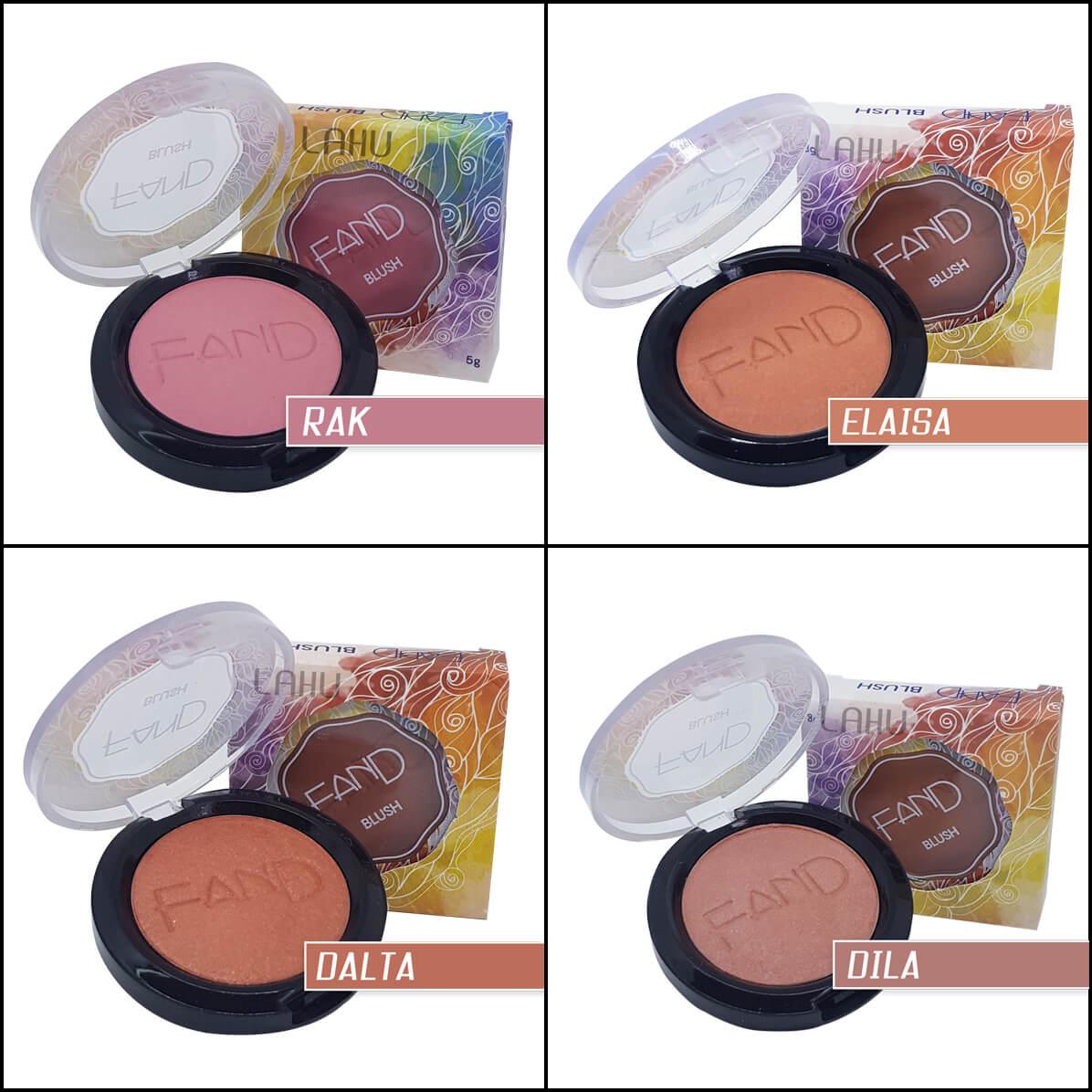 Blush Compacto Fand Makeup
