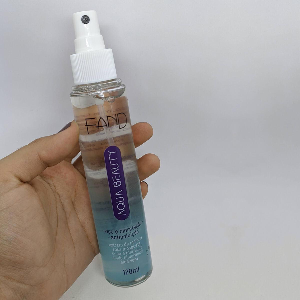 Bruma Aqua Beauty Fand Makeup 120ml - Antipoluição e Hidratação