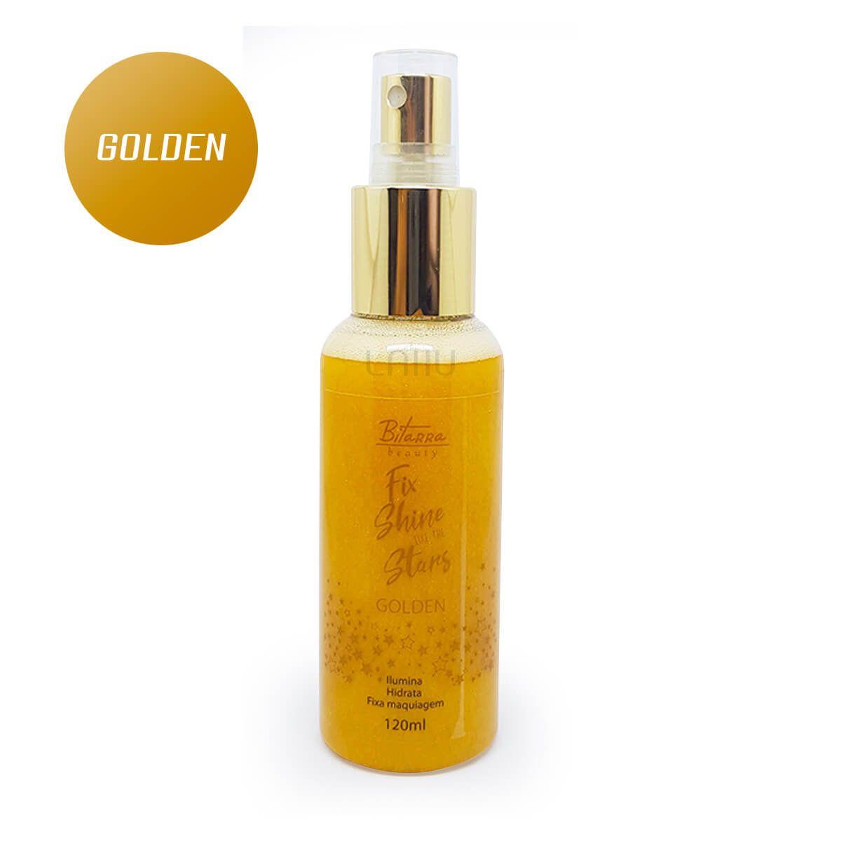 Bruma Fix Shine Golden Bitarra  - Ilumina Hidrata Fixa