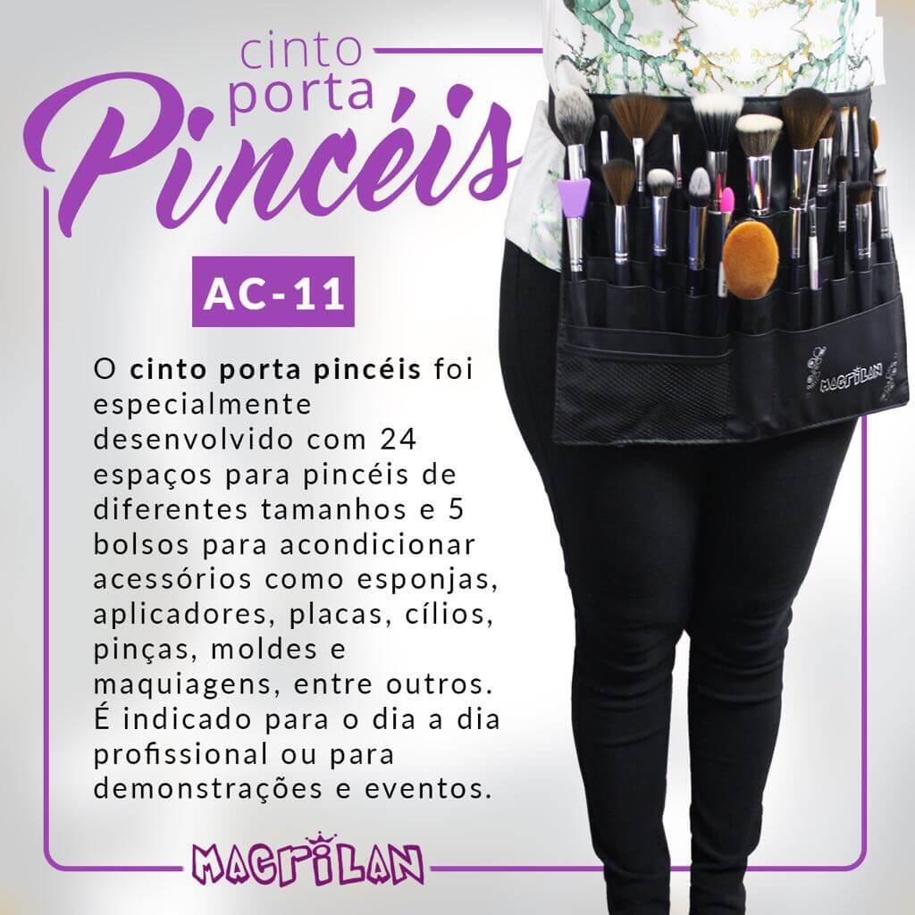 Cinto Porta Pincéis Macrilan AC11