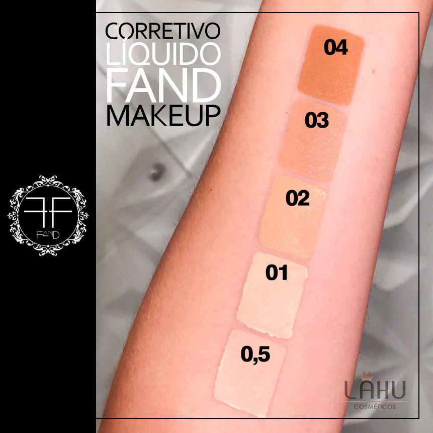 Corretivo Líquido 5g COR 0.5 Fand Makeup