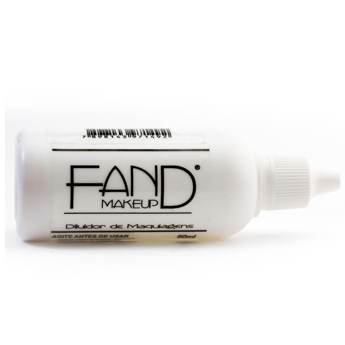 Diluidor de Maquiagens Fand Makeup com 60ml