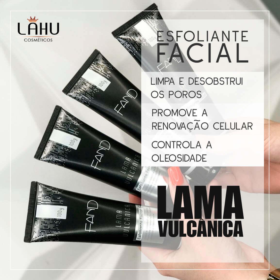 Esfoliante Facial com Lama Vulcânica 100g Fand Makeup