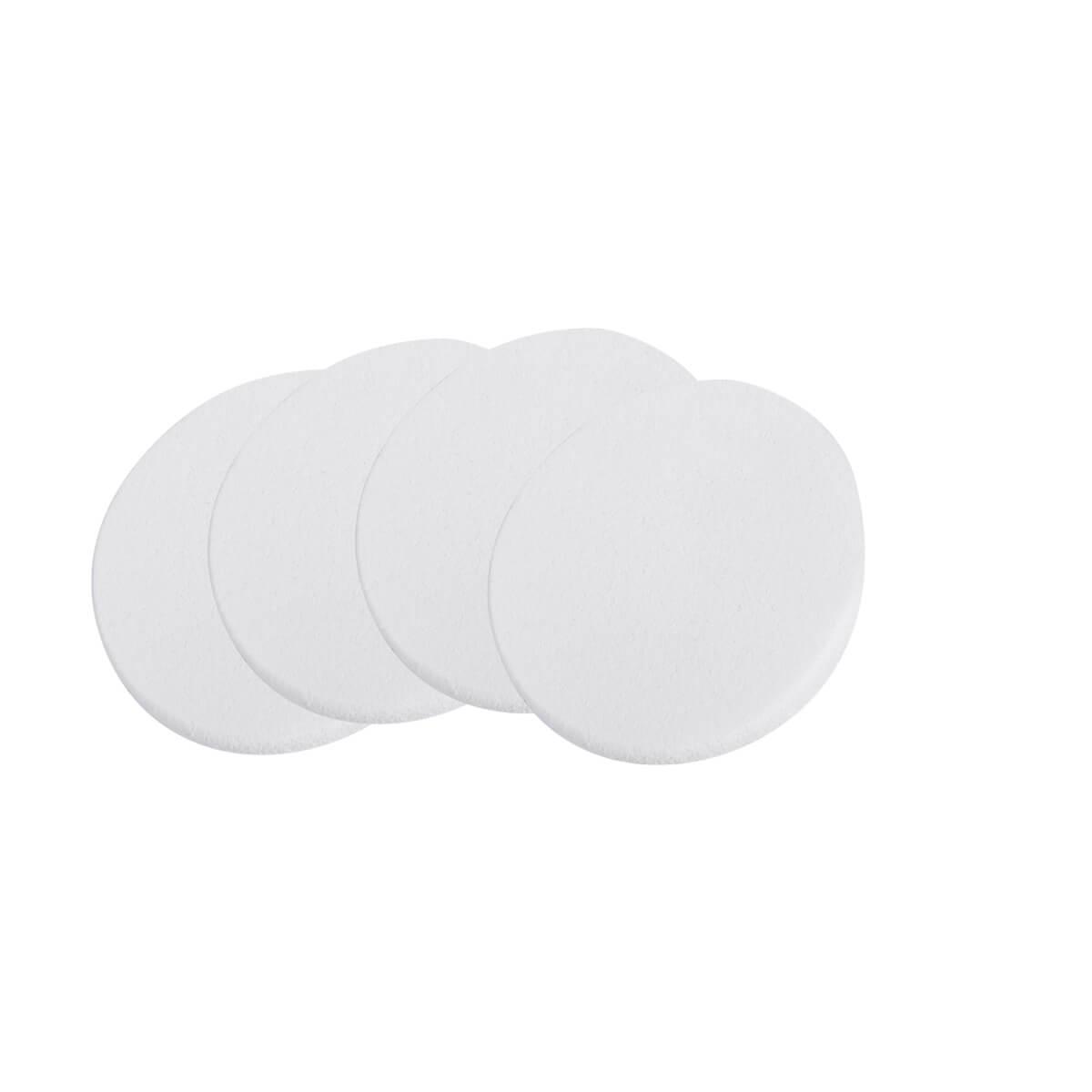 Esponja R808 Redonda Para Aplicação De Produto Kit Com 4 Sffumato Beauty