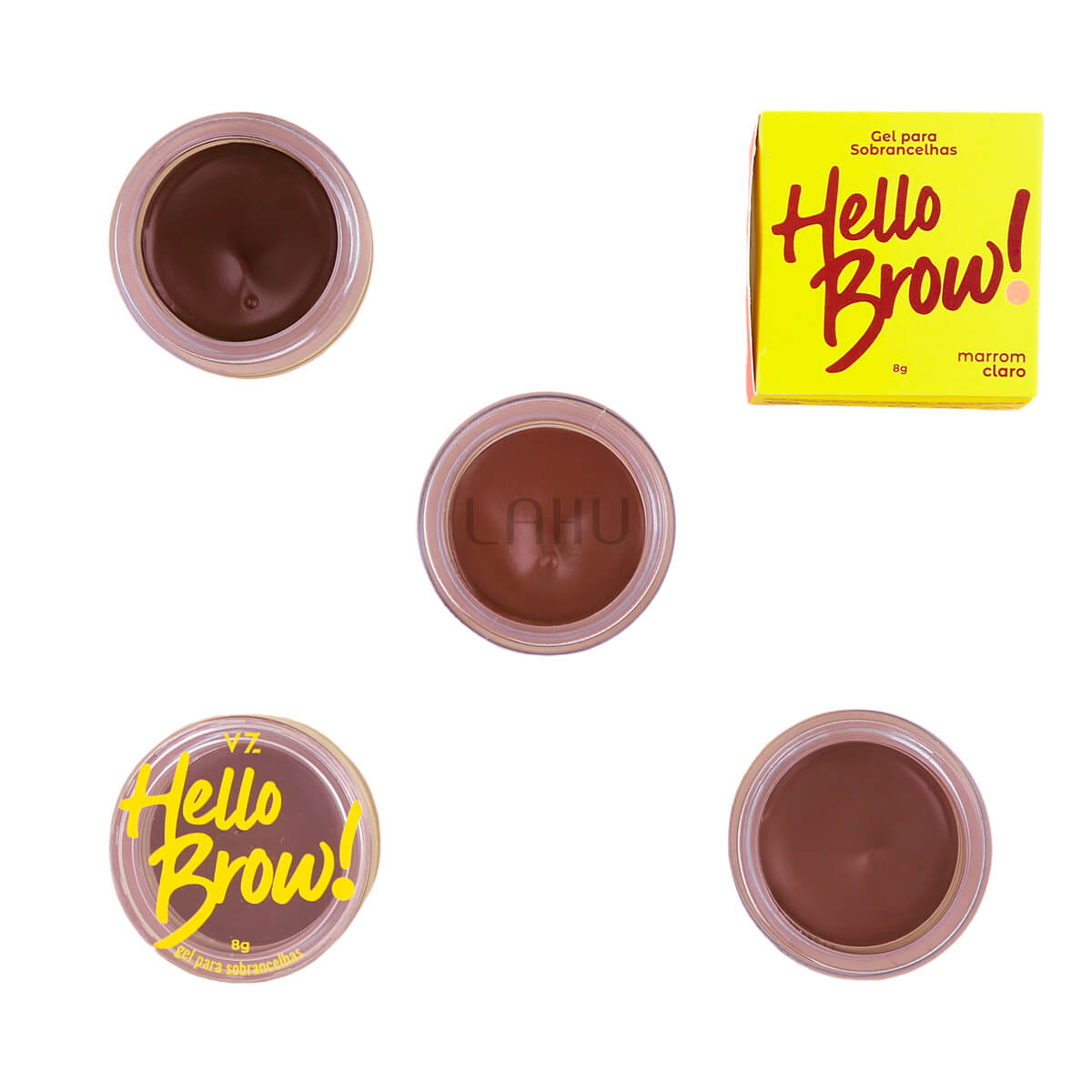 Gel para Sobrancelha Vizzela Hello Brow