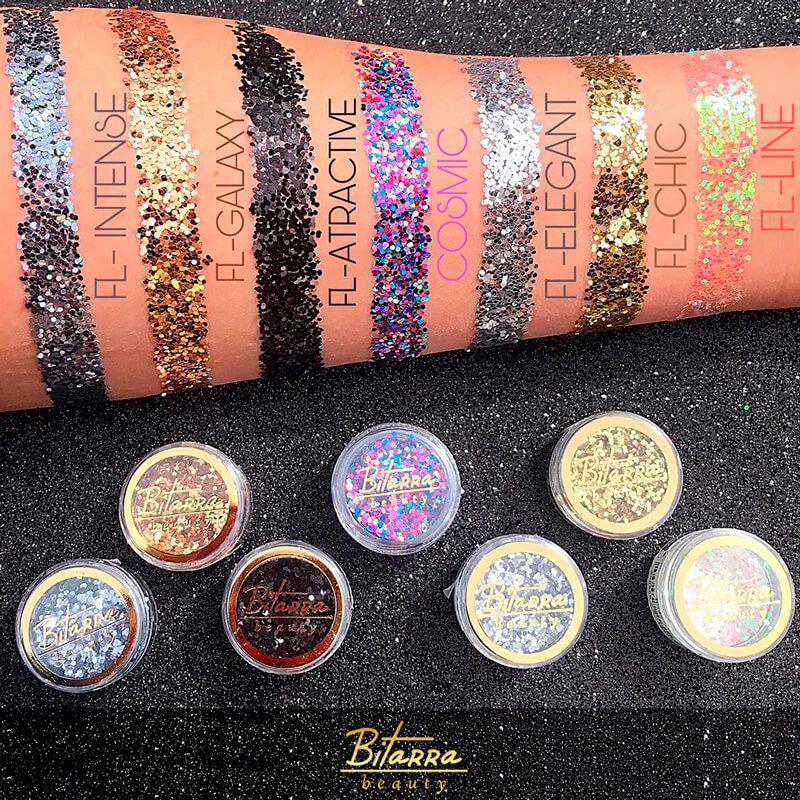 Glitter Flocado Holográfico Bitarra Beauty