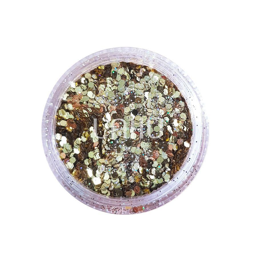 Glitter Holográfico Flocado Bitarra - FL Vibe