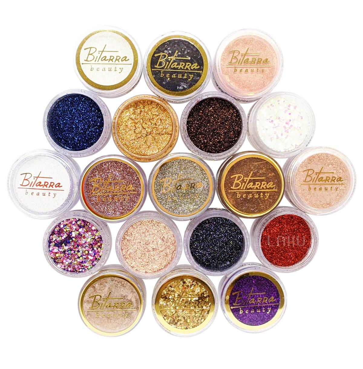 Glitter Pigmento Sombra Asa de Borboleta Bitarra Beauty