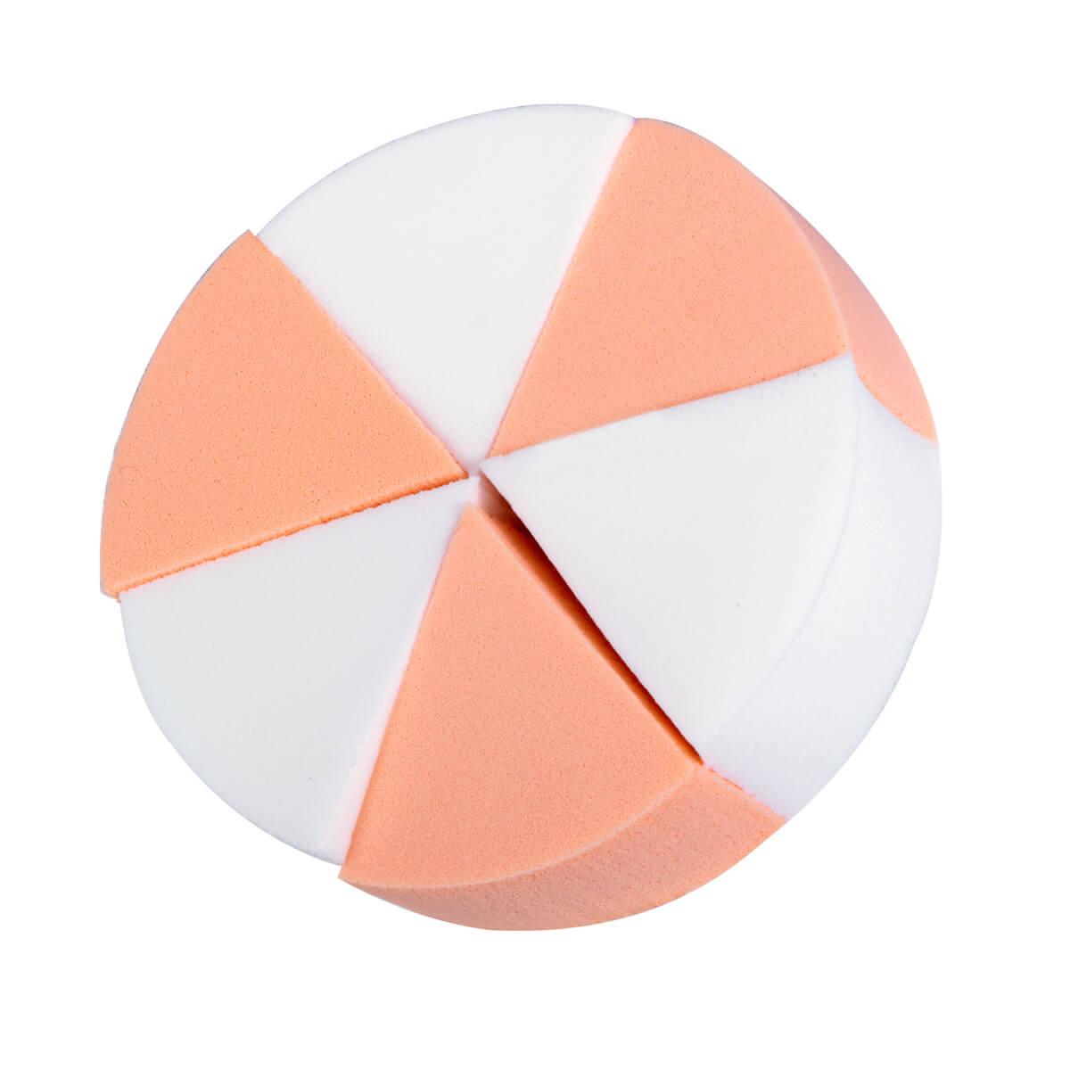 Kit 6 Esponjas Queijinho Triangular R805 Sffumato Beauty