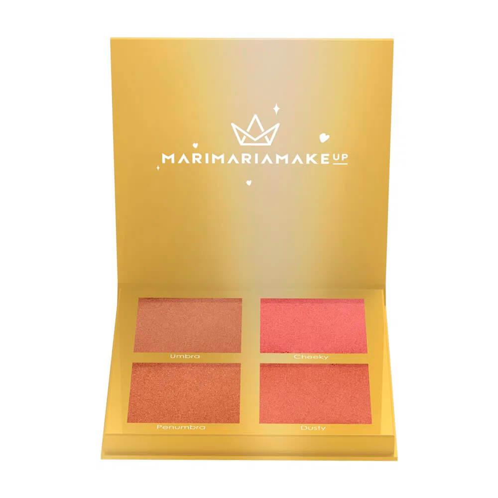 Paleta de Contorno e Blush Sun Kissed Mari Maria makeup