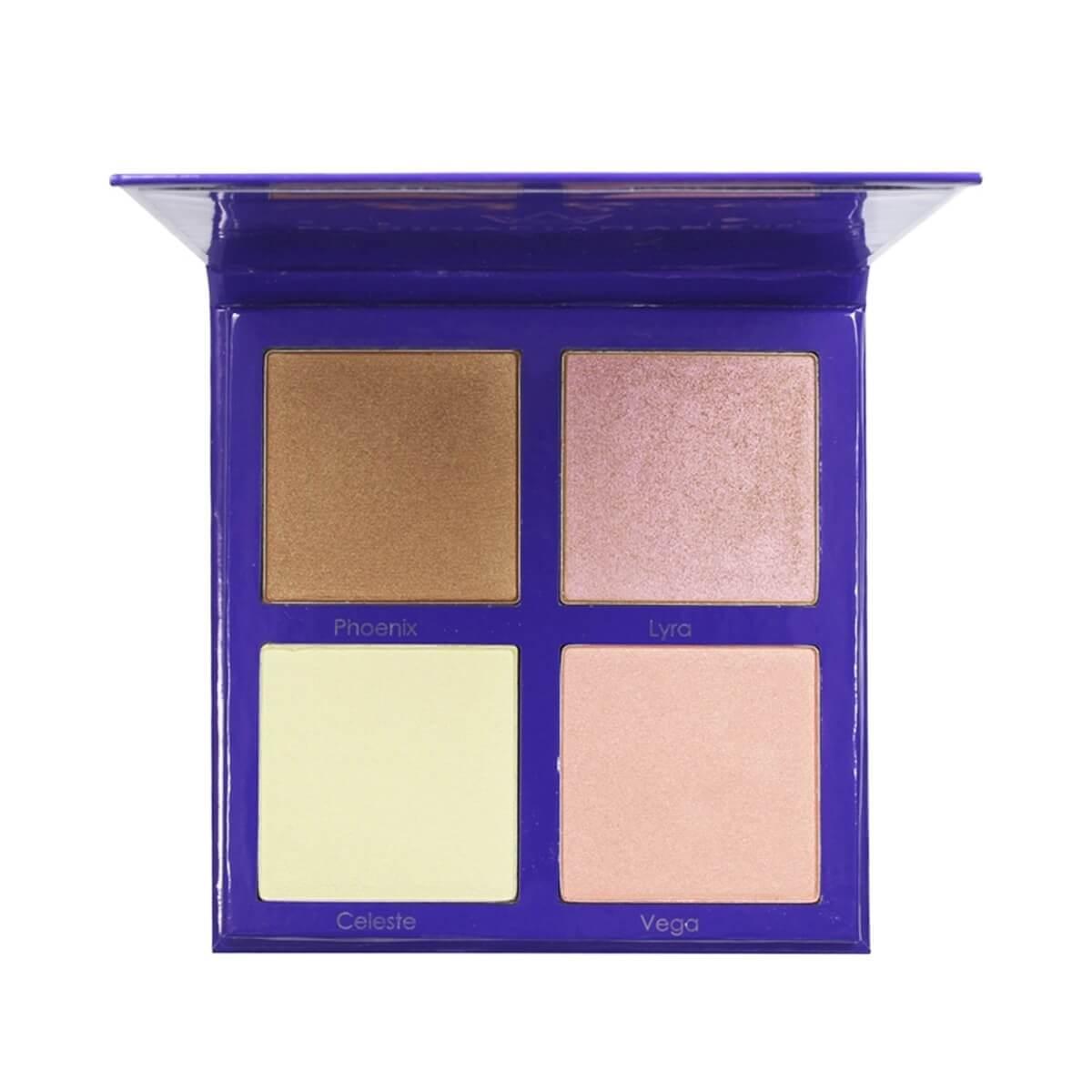 Paleta de Iluminador Rich Bliss Mari Maria Makeup 4 Cores