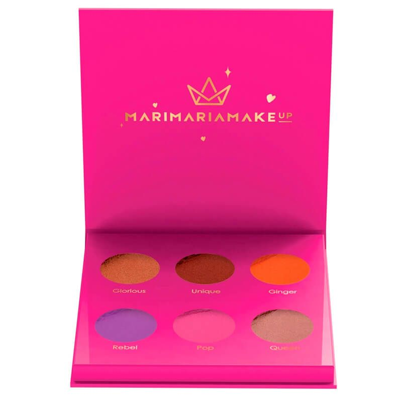 Paleta de Sombras Girl Power Mari Maria Makeup 6 Cores