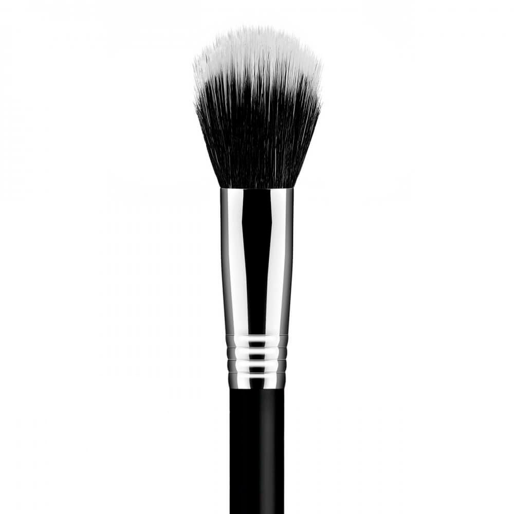 Pincel Duo Fiber Chato Pequeno F08 Daymakeup