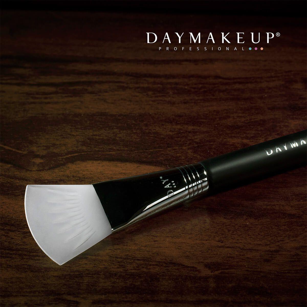 Pincel F280 para Pele em Silicone Daymakeup Skincare Silicon