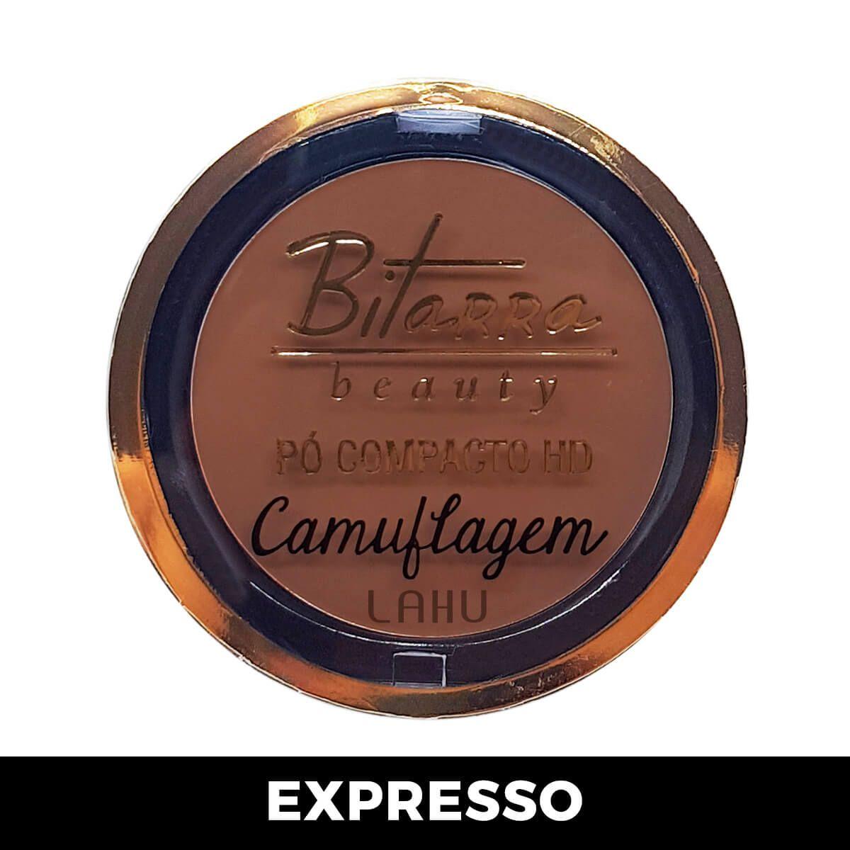 Pó Compacto HD Camuflagem Bitarra - Expresso